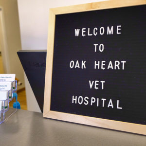 Welcome Sign At The Oak Heart Longview Grand Opening