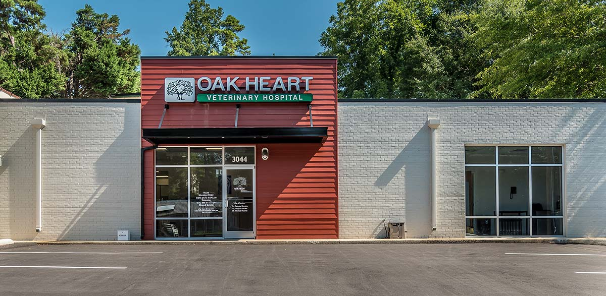 Oak Heart Veterinary Hospital at Dixie Trail Exterior