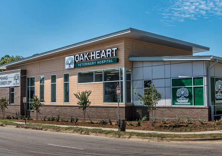 Oak Heart Vet South Saunders exterior