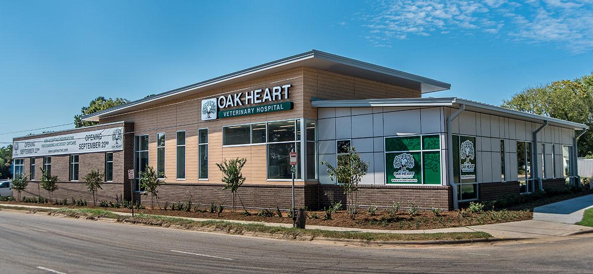 Oak Heart Vet South Saunders exterior